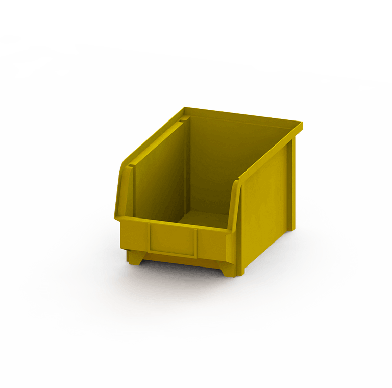 vaschetta a bocca di lupo gialla per furgoni