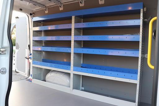 aménagement fourgon Volkswagen Crafter L3H3