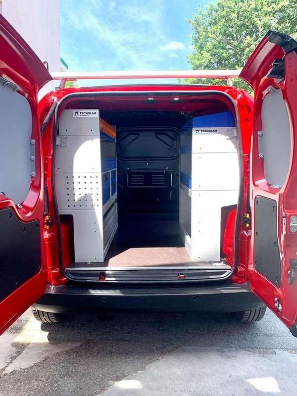 Fiat Fiorino rayonnages