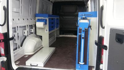bedrijfswageninrichting Volkwagen Crafter