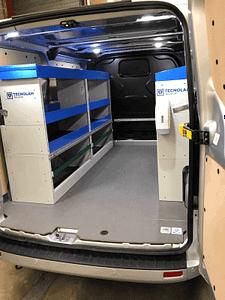 Ford Transit L1H1 Bedrijfswageninrichting Tecnolam