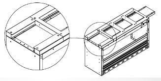 Uitschuifbare bankschroef bedrijfswageninrichting design