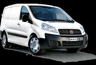 Bedrijfswageninrichting Fiat Scudo