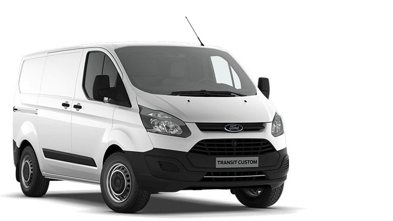 Bedrijfswageninrichting Ford Transit Custom