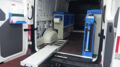 bedrijfswageninrichting Volkwagen Crafter 2