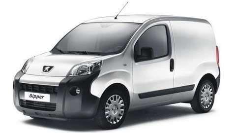 Bedrijfswageninrichting Peugeot Bipper